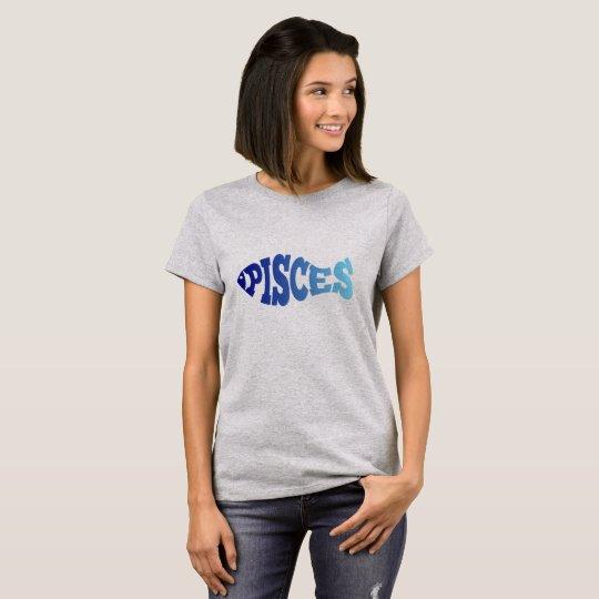 Camiseta Piscis - pescados del zodiaco