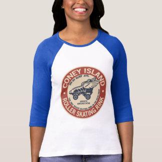 Camiseta Pista del rodillo de Coney Island del vintage