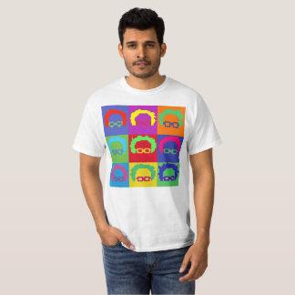 Camiseta Pixel 8bit del arte de las chorreadoras de Bernie