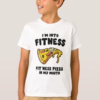 Camiseta Pizza de la aptitud