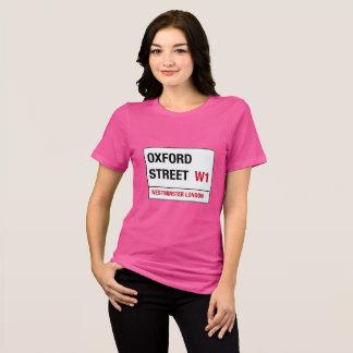 Camiseta Placa de calle de la calle W1 Westminster Londres