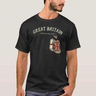 Camiseta Placas de identificación del inglés de Gran