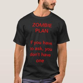 Camiseta Plan del zombi