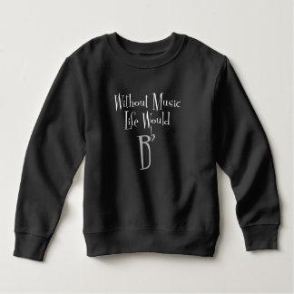 Camiseta plana de la oscuridad del niño de B