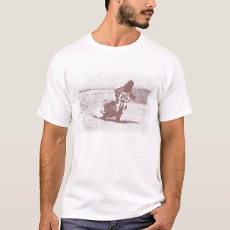 Camiseta plana de la pista