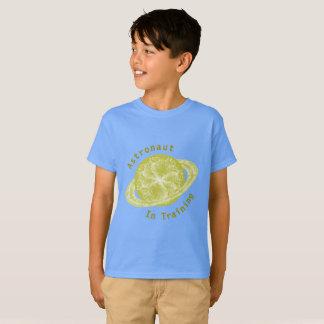 Camiseta Plantilla del planeta del oro