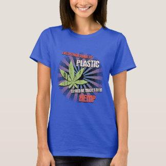 Camiseta Plástico del cáñamo