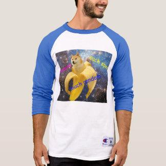 Camiseta plátano   - dux - shibe - espacio - guau dux