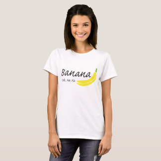 Camiseta Plátano, Ooh, Na del Na