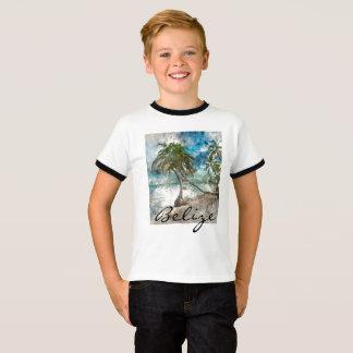 Camiseta Playa en el Ambergris Caye Belice