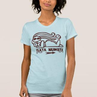 Camiseta Playa Nudista