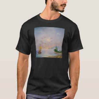 Camiseta Playa suave de la puesta del sol (toda)