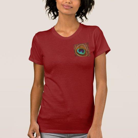 Camiseta ¡Pluma del pavo real!