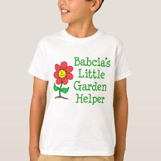 Camiseta Poco ayudante del jardín de Babcia