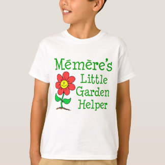 Camiseta Poco ayudante del jardín de Memere