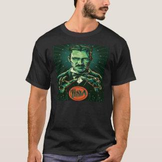 Camiseta poder del tesla del nikola