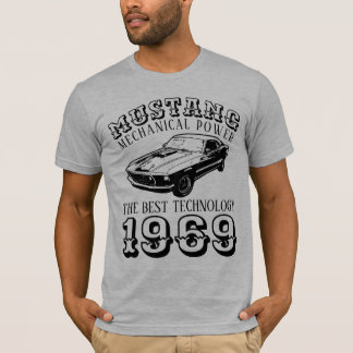 Camiseta Poder mecánico del mustango