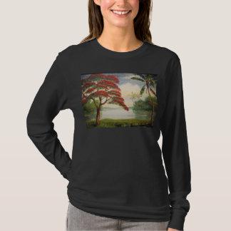 Camiseta Poinciana real (árbol llamativo)