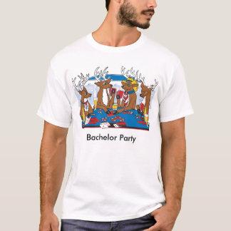 Camiseta Póker de la despedida de soltero en Vegas