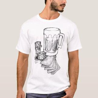 """Camiseta Póker del """"drenaje"""""""