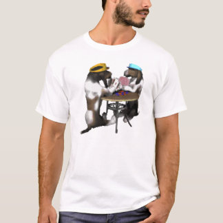 Camiseta póker hounds_playing del afloramiento -