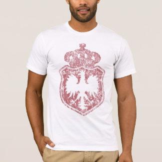 Camiseta polaca de la corona del escudo