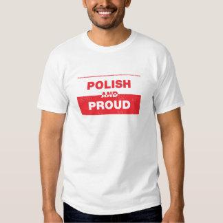 Camiseta polaca y orgullosa