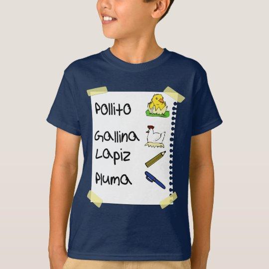 Camiseta pollo del pollito