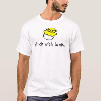 Camiseta Polluelo con los cerebros