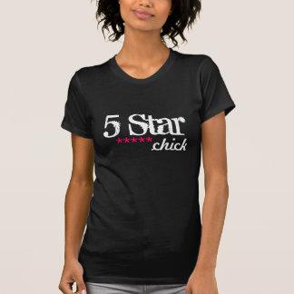 Camiseta polluelo de cinco estrellas