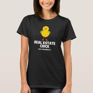 Camiseta Polluelo de las propiedades inmobiliarias