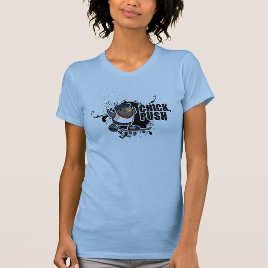 Camiseta Polluelo, empuje