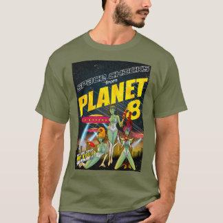 Camiseta Polluelos del espacio del color del planeta 8_full