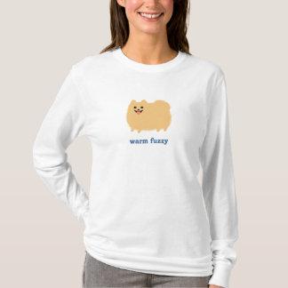 """Camiseta Pomeranian perro lindo """"borroso"""" caliente con el"""