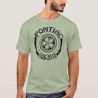 Camiseta Pontiac 1926 - 2010 oscuridad del logotipo de la