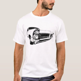 Camiseta Pontiac 1965 Grand Prix en blanco
