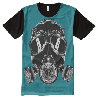 Camiseta Con Estampado Integral Camiseta por todo estabilizador del bleu del