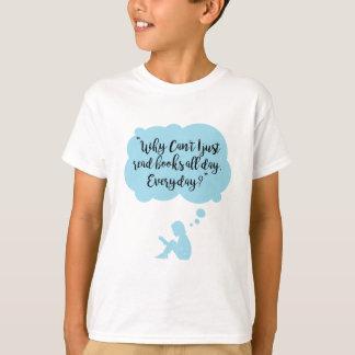 Camiseta Porqué no pueda apenas leo diario de los libros