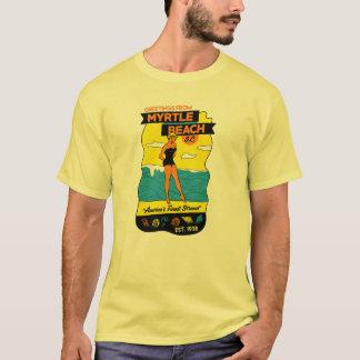 Camiseta Postal del Viejo-School Myrtle Beach