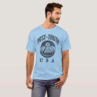 Camiseta Poste-Verdad los E.E.U.U.