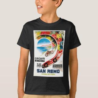 Camiseta Poster 1947 de la raza de San Remo Grand Prix