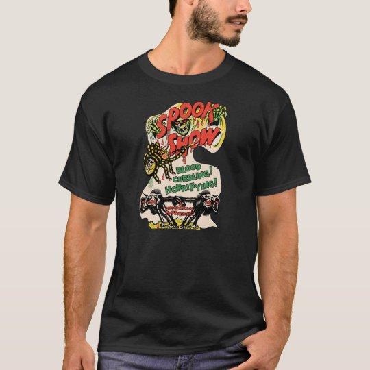Camiseta Poster de la demostración del espectro del vintage