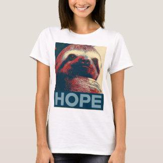 Camiseta Poster de la esperanza de la pereza