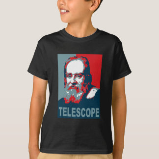 Camiseta Poster de Obama - telescopio de Galileo