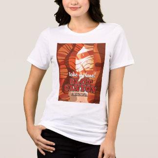 Camiseta Poster del viaje de Arizona del barranco de la