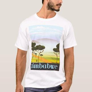 Camiseta Poster del viaje de las vacaciones de Zimbabwe