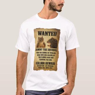 Camiseta Poster querido con la ardilla