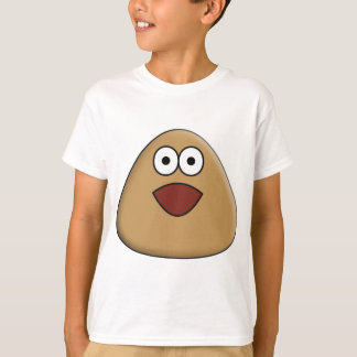 Camiseta Pou emocionado