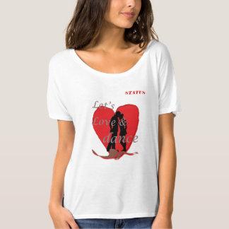Camiseta preciosa de las mujeres