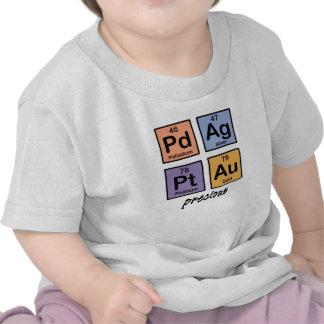 Camiseta preciosa del bebé